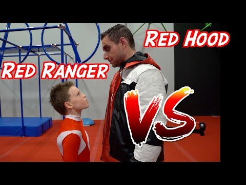 Ashton Myler VS. the Red Hood!