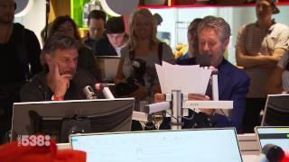 Peter Heerschop met de Grote Olympische Quiz   15 jaar Evers Staat Op