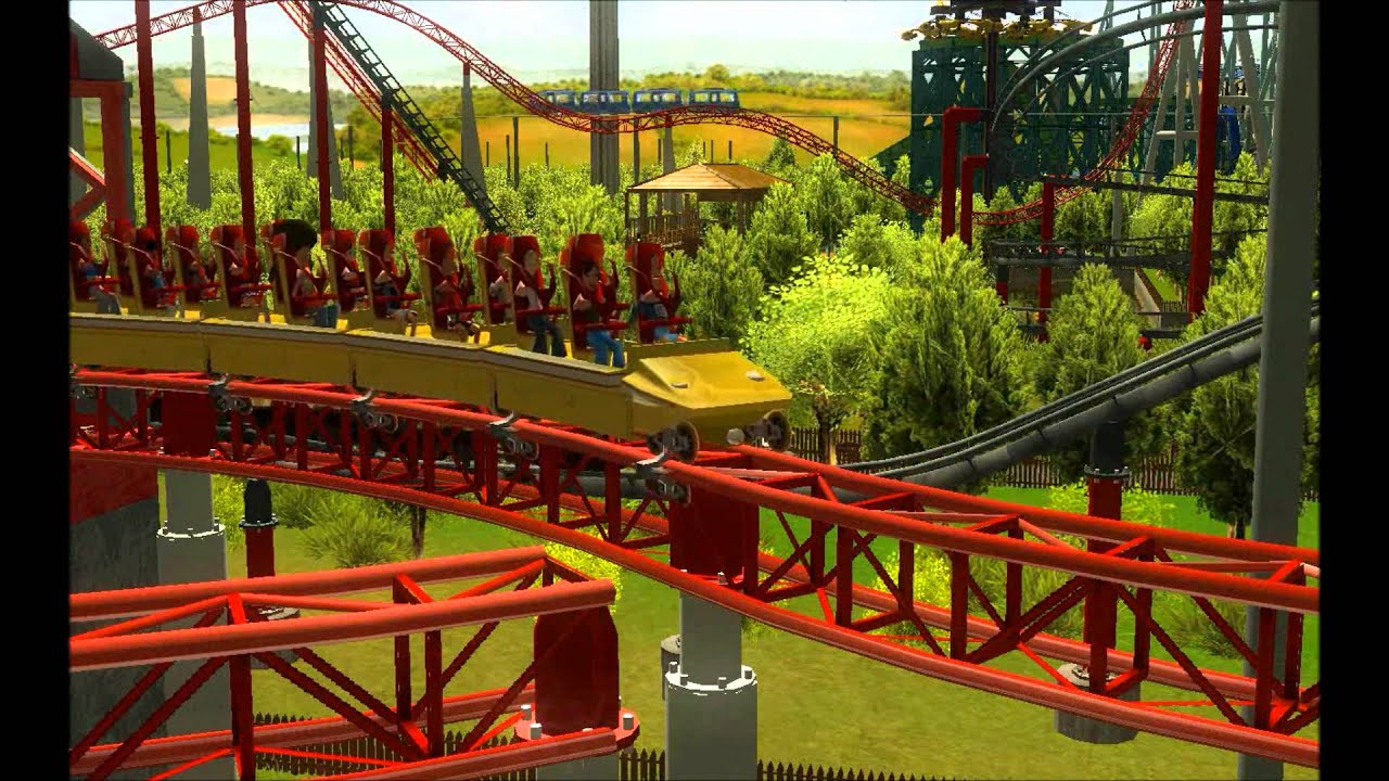 how to build ajecket roller coasters in roller coaster tycoon
