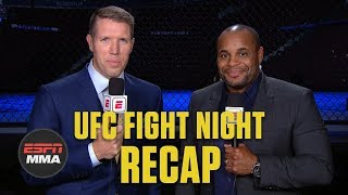 Justin Gaethje KOs Donald Cerrone, is Conor McGregor next? | UFC Fight Night Recap | ESPN MMA