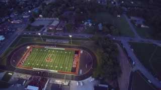 Logansport Berries new football turf in beautiful 4K resolution!
