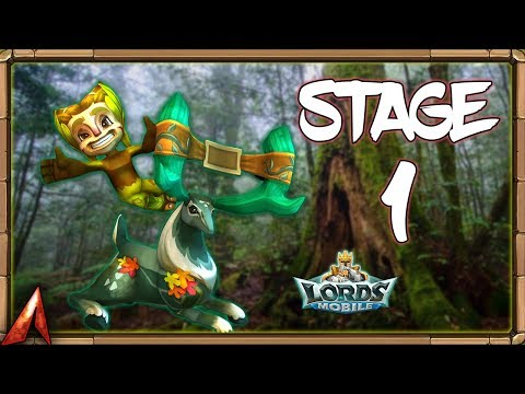 Limited Challenge: Grove Danger Stage 1! Completely F2P Team! Lords Mobile