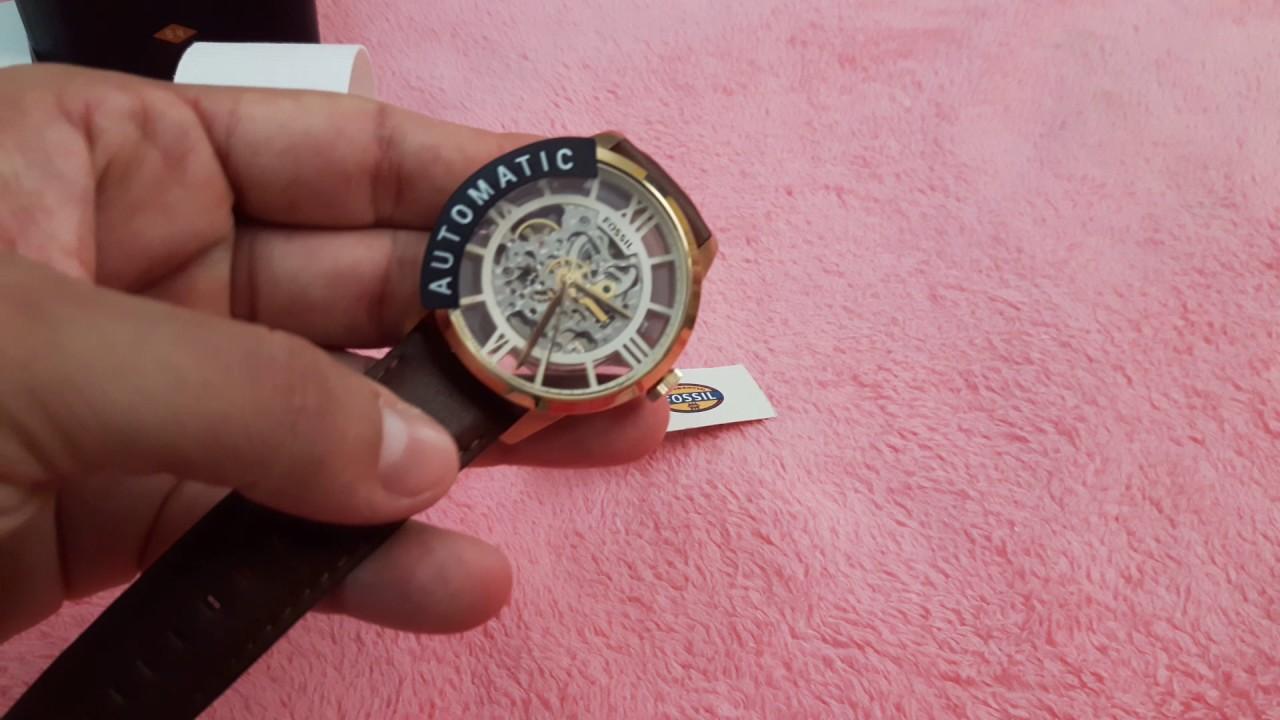 b9e3621f8aa Relógio Fossil ME3043 (Automático). - YouTube