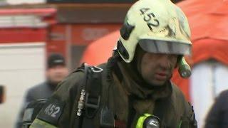 Крупный пожар на юге Москвы унес жизни 8 человек 23.09.2016