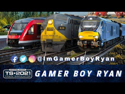 Gamer Boy Ryan : Train Simulator 2021 |