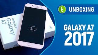 Unboxing e primeiras impressões Samsung Galaxy A7 2017 | Vídeo do TudoCelular