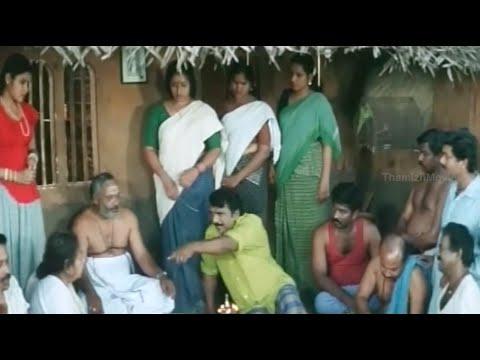 Cochin Haneefa Entrance Scene - Dhamayanthi Varugiral Movie Scene - Suresh Varma, Vani Viswanath