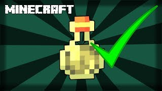 MINECRAFT  How to Make a Potion of Swiftness! 1.14.4