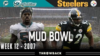 The Monday Night MUD Bowl! (Dolphins vs. Steelers 2007, Week 12)
