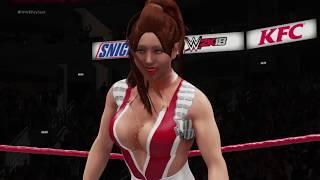 WWE 2K18 Mai Shiranui vs. Bloodrayne - No Holds Barred