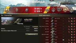 Фарт и БТР на Т-34-85 Rudy! Карта ЭНСК! 14 фрагов! WoT Full HD
