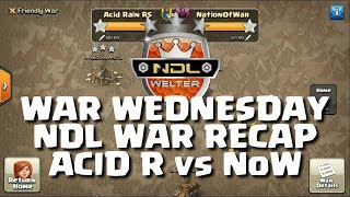 WAR WEDNESDAY 10.1 - NDL RECAP, ACID RAIN VS NATION OF WAR - WELTER