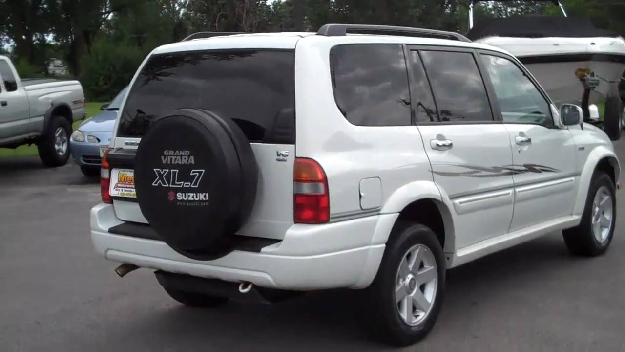 2001 Suzuki Grand Vitara XL-7 - YouTube