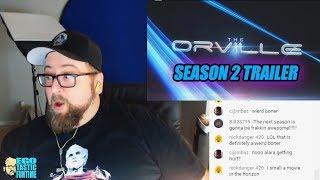 Talking The Orville Season 2 Trailer 2018 LIVESTREAM REACTION - Comic Con | TALKING THE ORVILLE