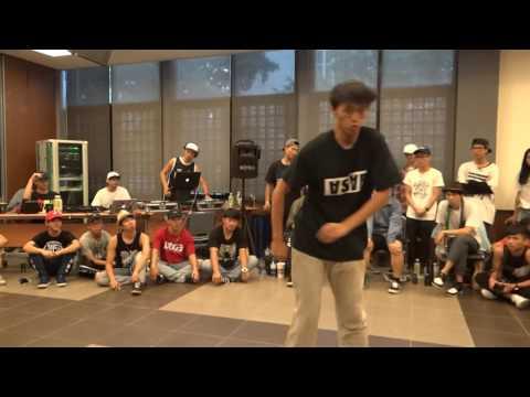 Popping vol.8葉致廷(win)v.s陳楷文   20161023 College High 臺大校內Audition