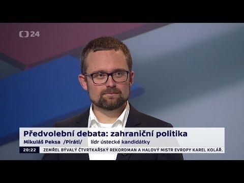 Předvolební debata 2017 - Mikuláš Peksa (sestřih vystoupení)