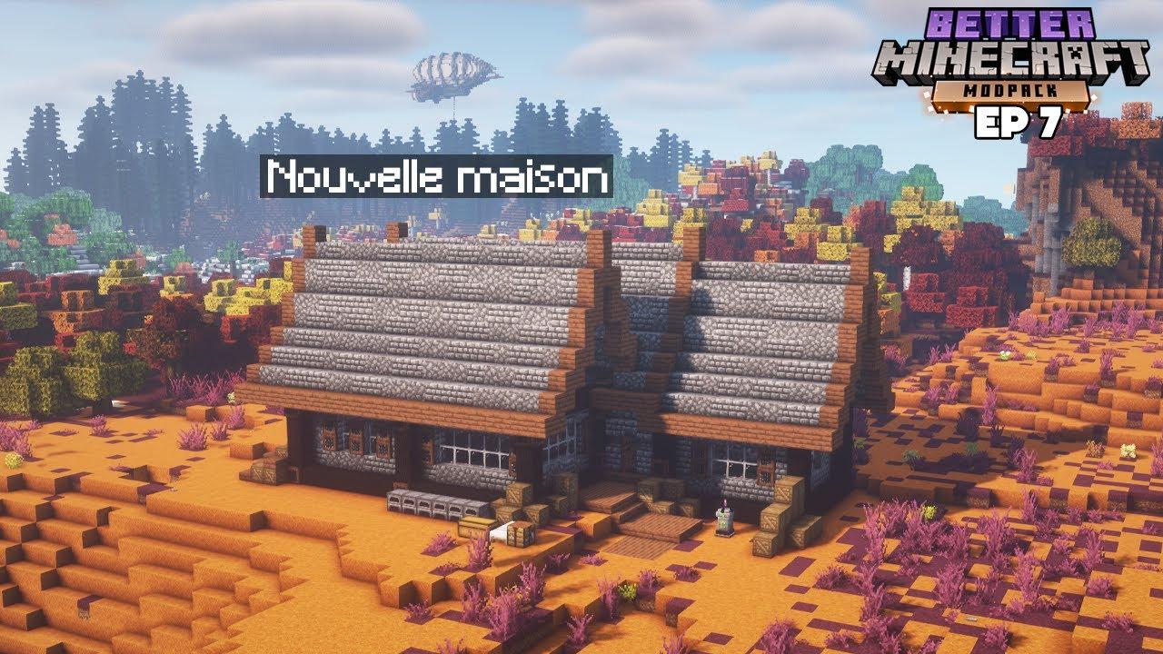 Download Ma PREMIÈRE MAISON en Moddé ! - Episode 7 BetterMC 1.17