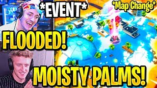 streamers-react-to-event-paradise-palms-flooded-new-moisty-palms-location-fortnite
