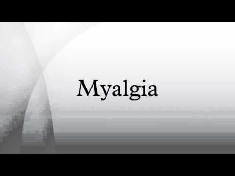 Миалгия – причины и симптомы миалгии