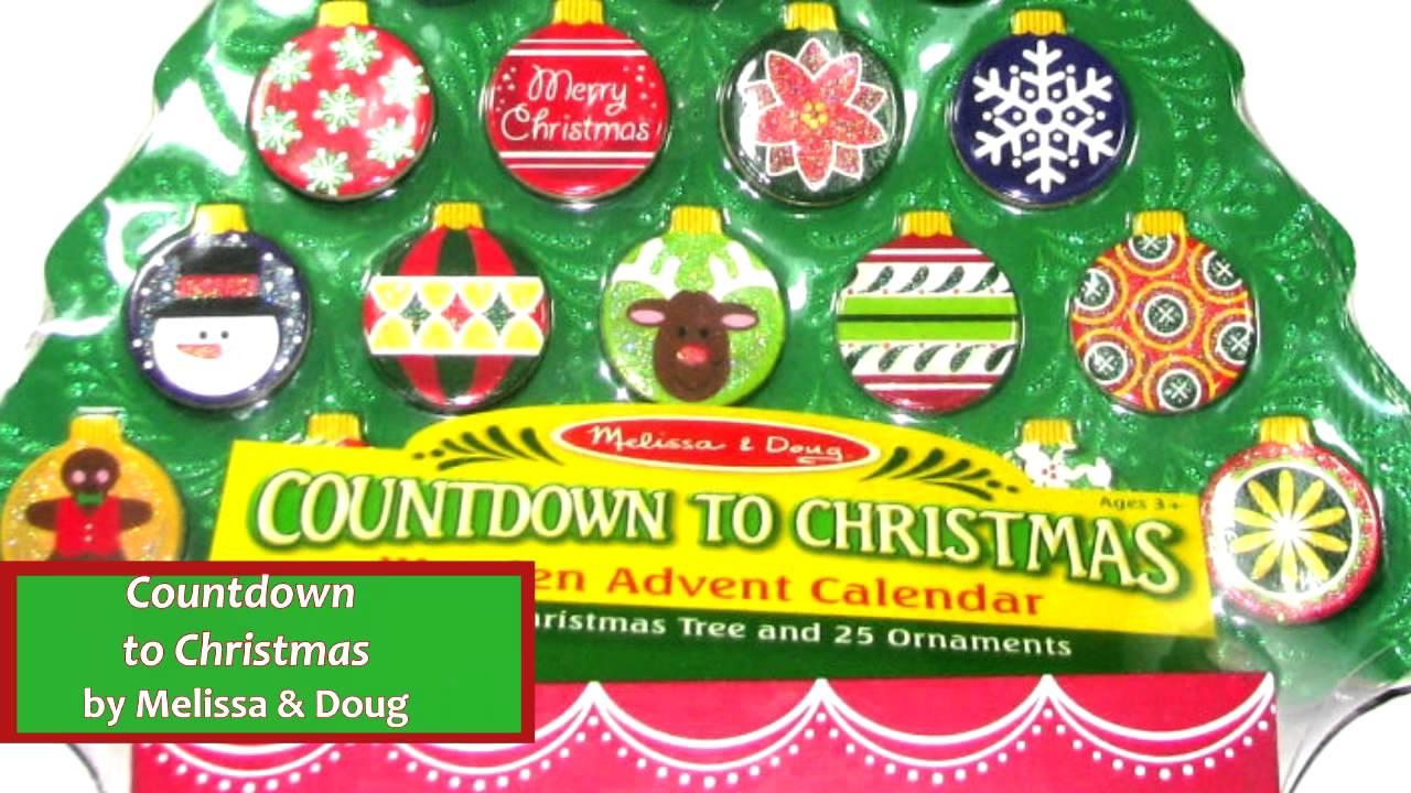 Countdown To Christmas By Melissa Doug 3571