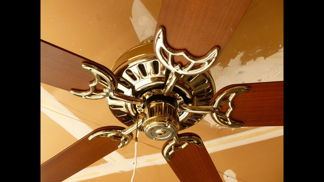Hunter Clarion Ceiling Fan Youtube