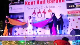 Kent Hail Garden - New Year 2014 Dupatta Dance from 70