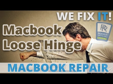 Repair Loose Hinge On Macbook Air A1369 A1370 A1465 A1466