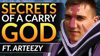 Why ARTEEZY is INSANE: PRO Tips EVERY CARRY MUST Know to SMASH EVERY LANE - Dota 2 Anti-Mage Guide
