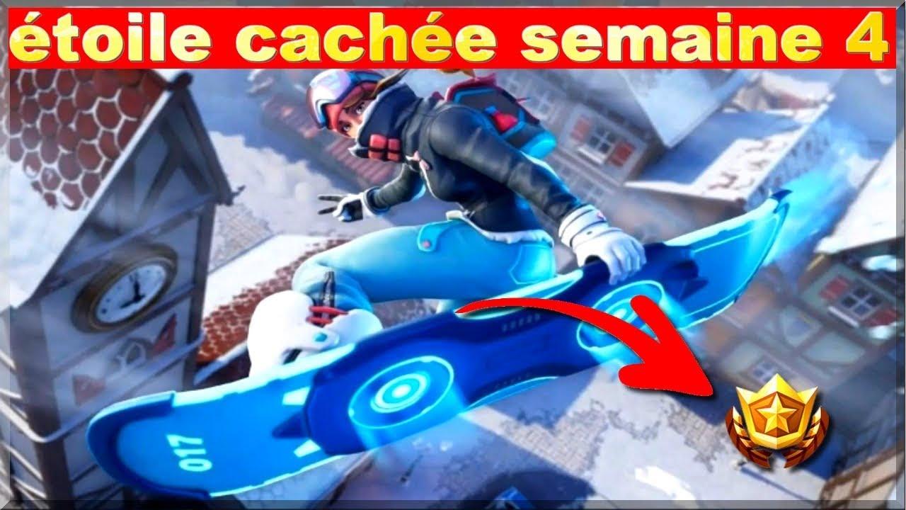 Fortnite Saison 7 Semaine 2 Etoile Cache Fortnite Mobile