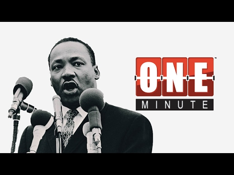 Dr. Martin Luther King Jr. - Legends of America - Civil Rights Leaders - One Minute History