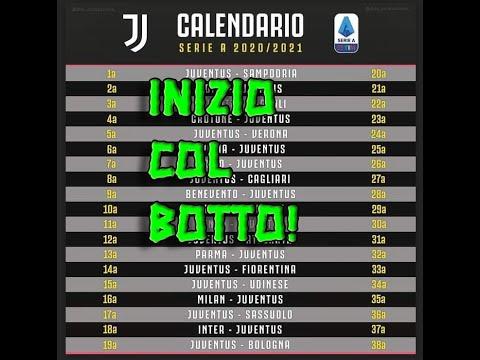 CALENDARIO SERIE A JUVENTUS 2020/2021: INIZIO E FINE COL BOTTO