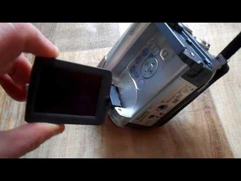 Panasonic Mini DV Digital Video Camera Camcorder NV-GS11EB Made In Japan PARTS