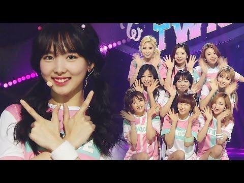 《EXCITING》 TWICE(트와이스) - CHEER UP @인기가요 Inkigayo 20160529