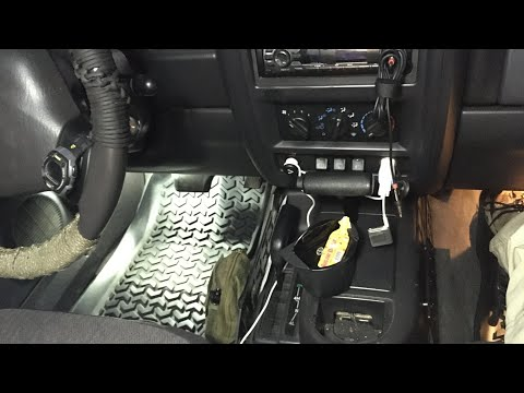 Jeep Cherokee Interior Mods