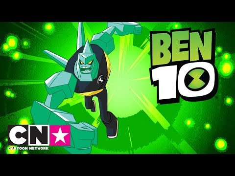 Ben 10 | Ugens rumvæsen - Diamanthoved | Dansk Cartoon Network
