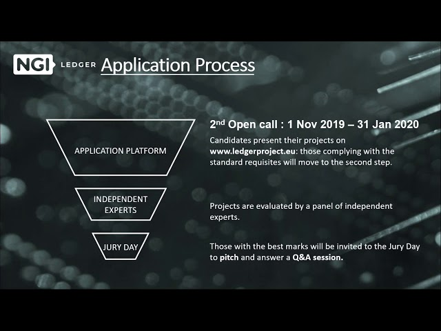 LEDGER Open Call 2 - Webinar Ep. 2: Verticals and What You Gain
