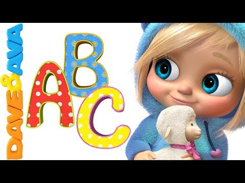 🚂  ABC Song | ABC Songs for Kids | Nursery Rhymes and Baby Songs from Dave and Ava 🚃