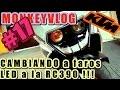 El mejor LED para KTM RC390 | MONKEYVLOG