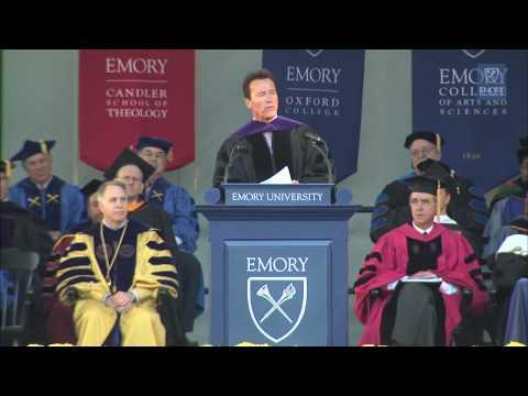 Arnold Schwarzenegger's 2010 Emory Commencement Address