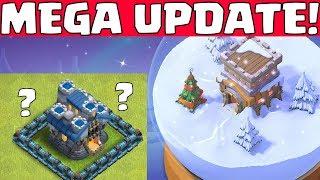 MEGA WINTER UPDATE! || Clash of Clans || Let