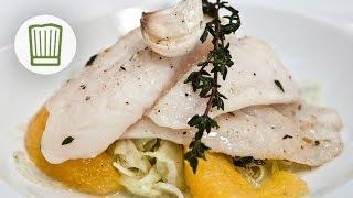 Pangasius auf Fenchelsalat mit Orangenvinaigrette #chefkoch
