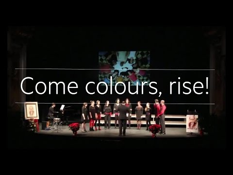 Come, colours rise! Cor sOns