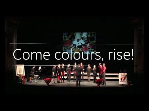 Come, colours rise! Cor sOns