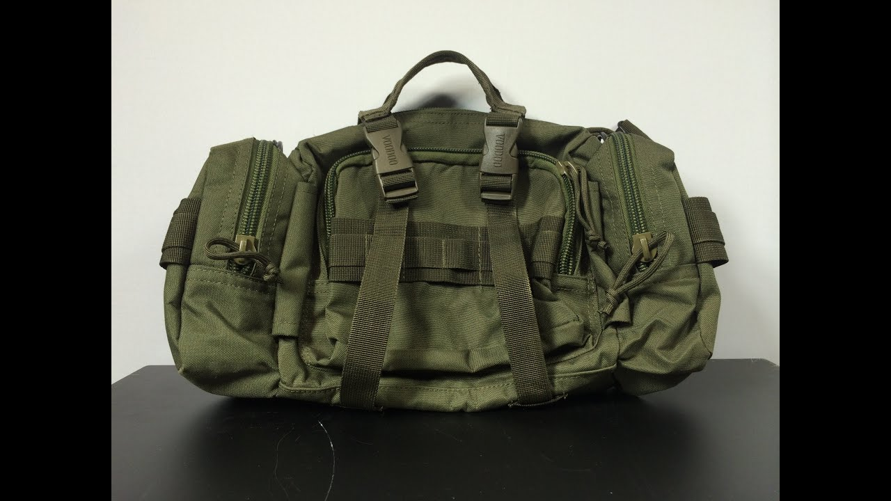 Voodoo Tactical Enlarged 3 Way Deployment Bag Compact Bug Out Or Survival