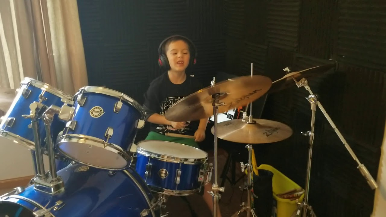 Shawn Mendes - Stitches [7 yr Old Brayden Opiola Drum Cover]