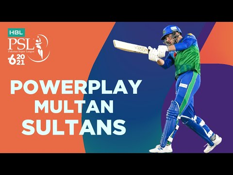 Multan Sultans Powerplay   Peshawar Zalmi vs Multan Sultans   Match 5   HBL PSL 6   MG2T