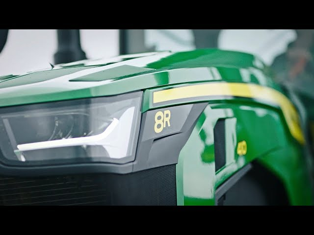 Nuovi Trattori Serie 8R John Deere