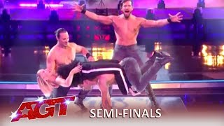 Messoudi Brothers: Accept Simon Cowell's Danger Challenge and WOW! | America's Got Talent 2019
