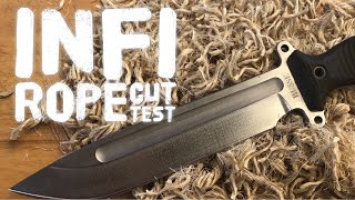 Gambar cover Edge Retention: INFI Steel on Busse Knife (I think I can test it actually)