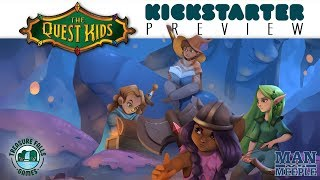 The Quest Kids Preview by Man vs Meeple (Treasure Falls Games)